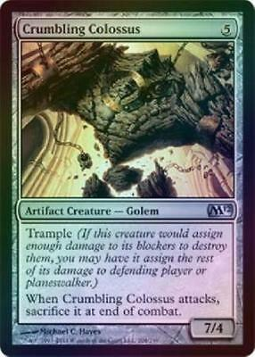FOIL Crumbling Colossus M12 Core 2012 Magic The Gathering MTG ~~~~ NEAR MINT