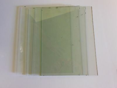 4-Pieces Of Antique Wavy Glass 8'' X 10'' Or 9'' X 11