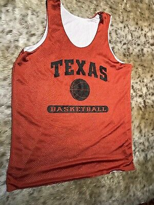new arrivals f6c65 79f01 CHAMPS SPORTS TEXAS Longhorns NCAA Basketball Practice Jersey Blank Mens Sz  XL
