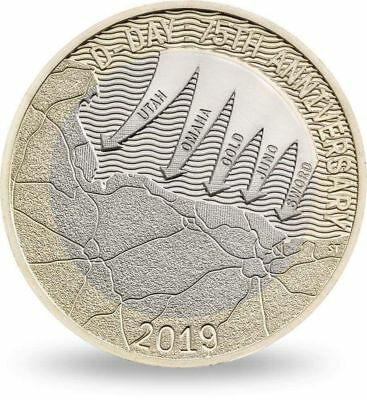 Cheapest £2 Coins 2019 D Day Landings Anniversary Two Pounds