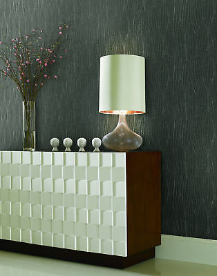York Wallcoverings MR643747 Mixed Metals Channel Stripe Wallpaper