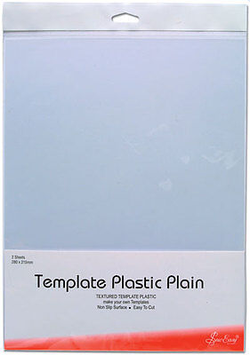 Sew Easy Plain Template Plastic, Pk Of 2 Sheets,stencil Quilting Patchwork Bnew