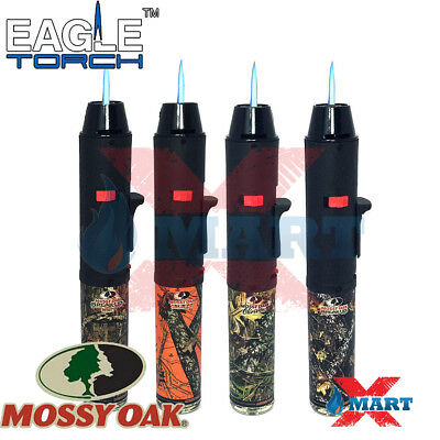 Eagle Torch Pen Gun Torch Lighter Butane Refillable Mossy Oak Camouflage Hunting