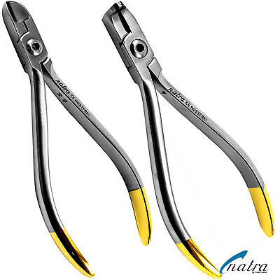 Distal End TC Cutter set Ligature Wire Orthodontic lab Dental Plier Germany