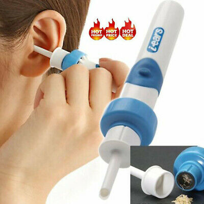 Electric Ear Wax Removal Vacuum Cleaning Cleaner Device Earpick Painless Tool DM