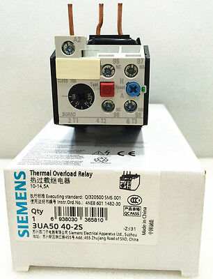 1PC NEW SIEMENS Thermal Overload Relay 3UA5040-2S 10-12.5A #OH19