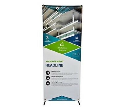 """X Banner Stand 30"""" X 72"""" Tripod Trade Show Display Advertising Banner Stand"""