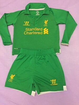 Warrior Liverpool football baby kit Goalkeeper   for boys  size 18/24 month