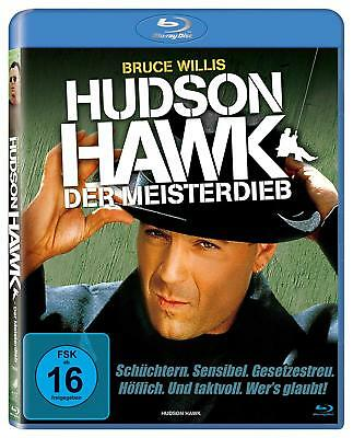 HUDSON HAWK - Blu-ray - Region ALL ( A,B,C )  - free shipping - Bruce Willis