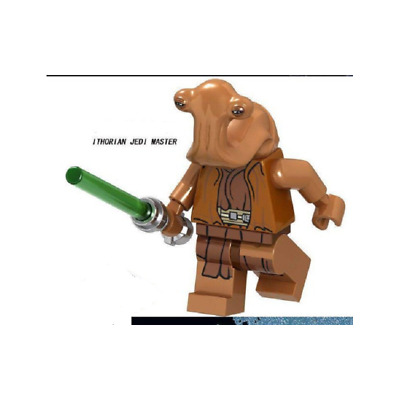 MINIFIGURE JEDI MAITRE ITHORIAN NEW Fits  Starwars Star Wars