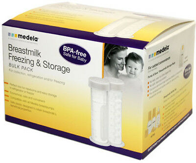 Breast Milk Freezer Storage Containers, Medela, 12 pack