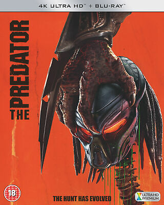 The Predator [2018] (4K Ultra HD) Boyd Holbrook, Trevante Rhodes, Jacob Tremblay