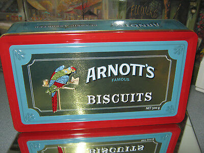 Arnott's Famous Biscuits ( Empty Tin )
