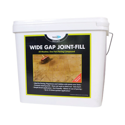 Bond It Wide Gap All Weather Paving Pointing Joint Filling Compound Grey or Buff
