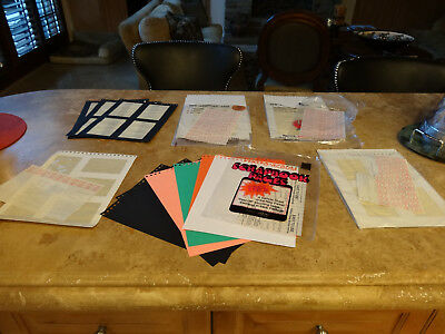 Lot of Parker Heat Seal Photo Album Pages New but Opened
