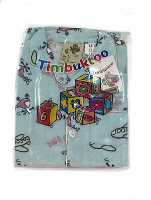 Timbuktoo Flanalette Children's Blue High Flyer Aeroplane Helicopter Pyjamas