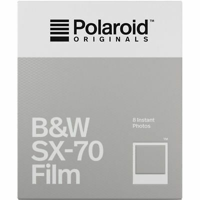 Polaroid Originals 4677 Black & White B&W Instant Film For SX-70 Type Cameras