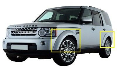 6pc ABS un-painted wheel arch kit for Land Rover Discovery 4 LR4 conversion 3