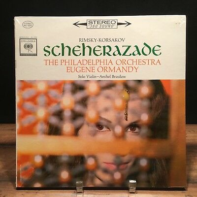 *SEALED* Rimsky-Korsakov SCHEHERAZADE Ormandy/TPO/Brusilow 1962 Columbia MS 6365