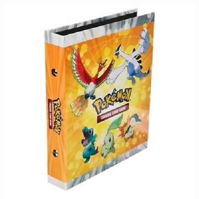 Classeur POKÉMON HEARTGOLD SOULSILVER album pour 132 cartes 17 pages A5