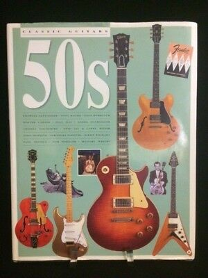 Classic Guitars Of The 50's Hardback Rare First British Edition 1996 Tony Bacon