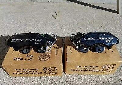 SSBC Force 10 Classic brake calipers four 4 piston aluminum kelsey hayes wilwood