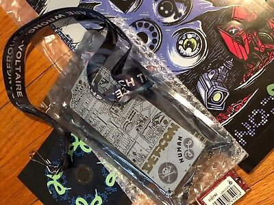 Defcon 26 Human Badge, lanyard, booklet, stickers and CD FAST SHIPPING