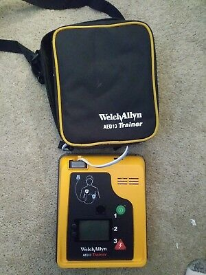 Welch Allyn AED 10 Trainer in great used condition
