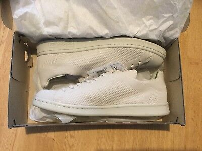 Adidas Originals Mens Stan Smith Primeknit Trainers In Oatmeal brand new in box