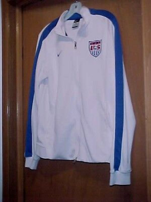 d407144c814 NEW Mens NIKE Team USA Olympic Soccer Warm-Up Jacket Full ZIP World Cup