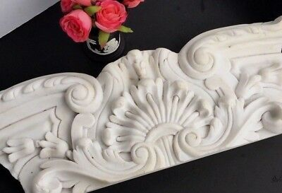 Antique White Marble Architectural Salvage Fragment
