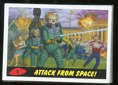 2013 Mars Attacks Invasion Complete 58-Card HERITAGE Parallel Base Set