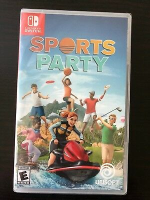 NEW! SPORTS PARTY (Nintendo Switch 2018) FACTORY SEALED! Ready to Ship!