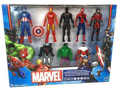 Marvel Avengers 8 Character Ultimate Protectors Pack