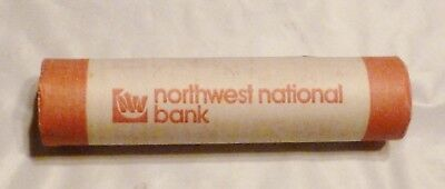 1981P Lincoln Memorial Cent Uncirculated Obw Penny Northwest National Bank Roll