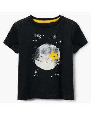 Gymboree Rising Stars Outer Space Saturn Tee Shirt Top Toddler Boy Size 2T NEW