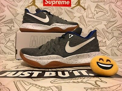 low priced ec280 9e976 NIKE KYRIE IV 4 Low Uncle Drew Atmosphere Grey White Gum AO8979-005 SZ  7=WMNS8.5