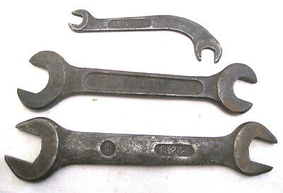 Lot 3 Antique International Harvester Co. Tractor Wrenches, IHC Marks