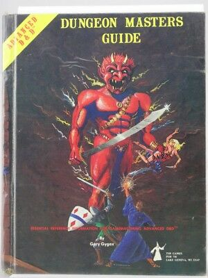 """TSR 2011 """"Dungeon Master Guide"""" (AD&D, 1979 1st print ) 103003004"""