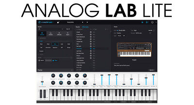 ARTURIA Analog Lab Lite V3 (VST/AU/AAX) License