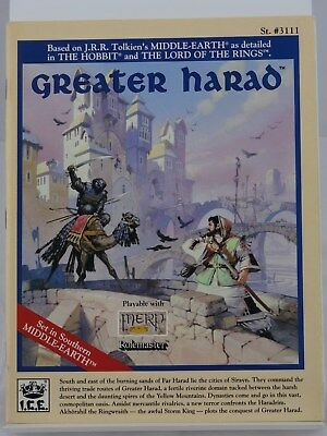 MERP - Greater Harad- (I.C.E., Middle Earth, Rolemaster) 101002002