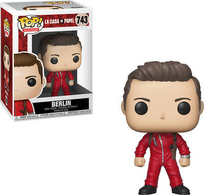 Money Heist - Berlin - Funko Pop! Television: (2018, Toy NEUF)