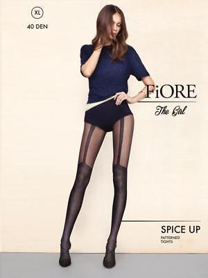 "Tights /""Whizz/"" 20 Denier S M L Black Polka Dot Patterned Fishnet small net"