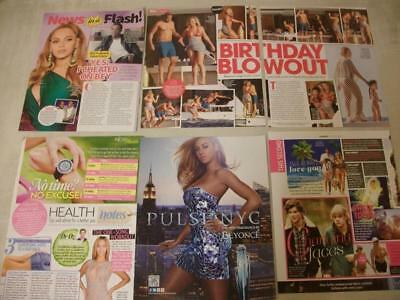5 x BEYONCE *Magazine Clippings