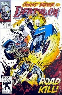 Deathlok #9 (1992) Marvel Comics / Ghost Rider