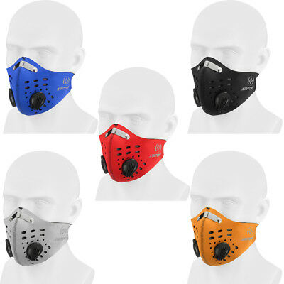 Cycling Bicycle Motorcycle Half Face Mask Mouth Anti Dust Pollution Filter Tool