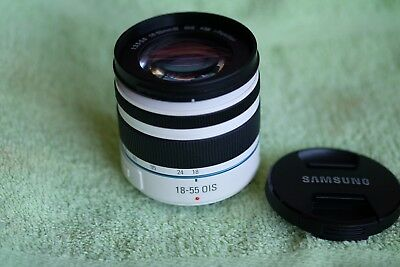 SAMSUNG NX 18-55mm F3.5-5.6 OIS III i-Function Lens White , Airmail w/tracking