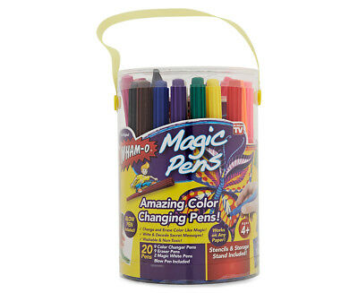 Amazing Color Changing Pens! 20-Magic Pens Set by Wham-O