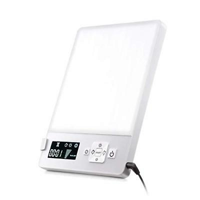 Light Lamp Therapy Daylight Sunlight Blue White 10000 LUX Timer Dimming LED