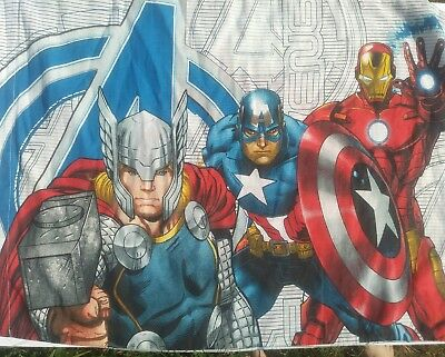 Avengers Twin Pillow Case Thor Ironman Captain America Earths Mightiest Heroes